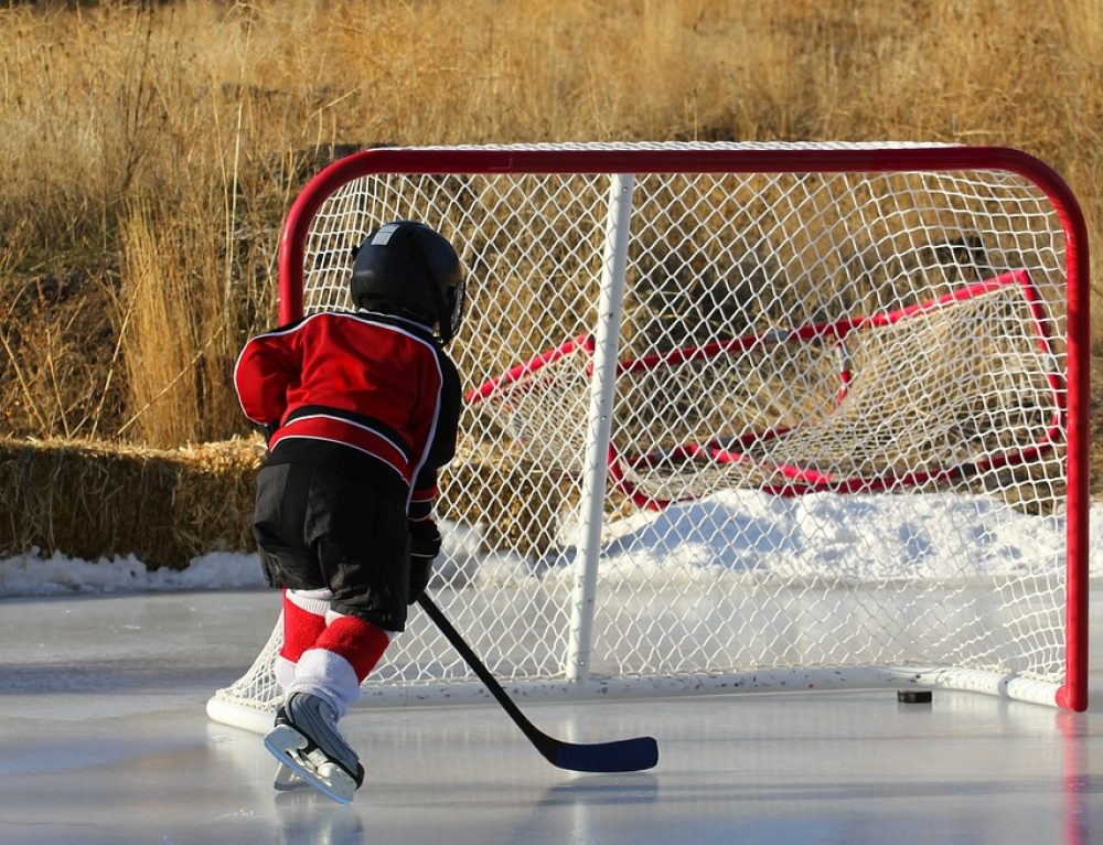 Proof that small ice hockey is better for kids