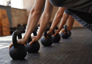 Lifting Kettle Bells