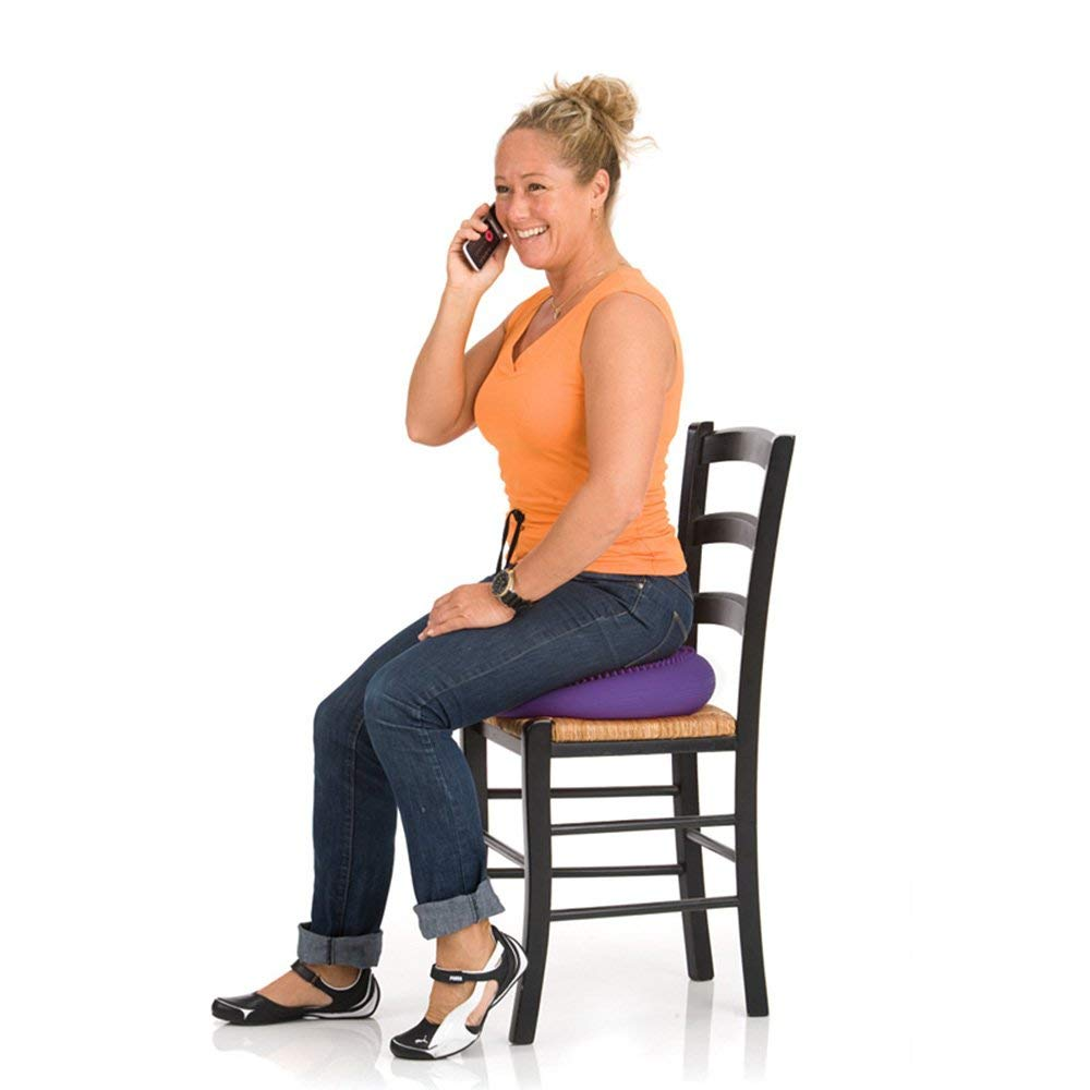 Using sit disc on chair