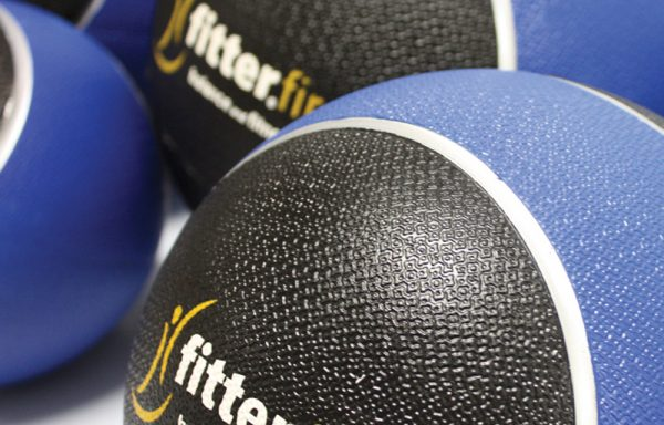 FITTERFIRST PVC MEDICINE BALL