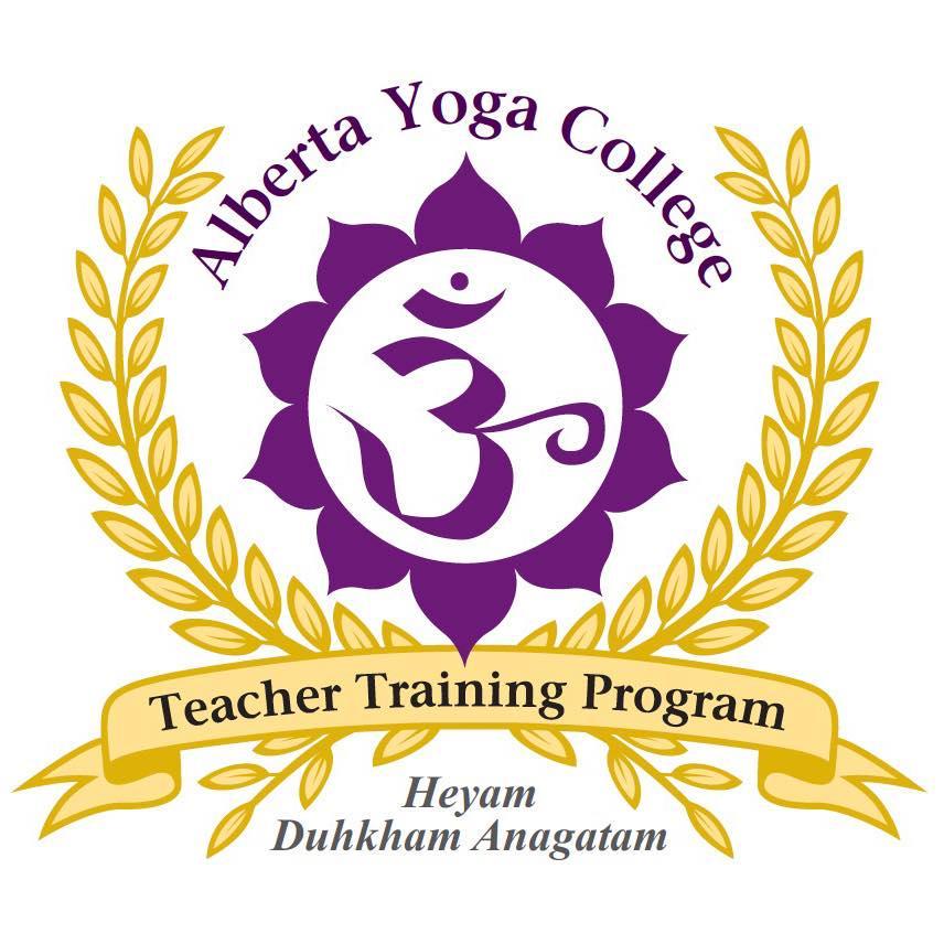 Alberta yoga colllege logo
